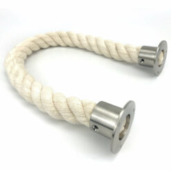 Synthetic White Cotton Barrier Rope
